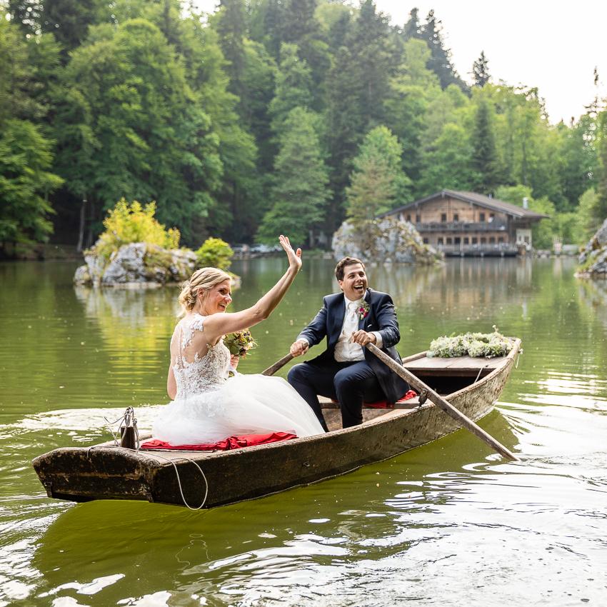Hochzeitsfotos Berglsteinersee